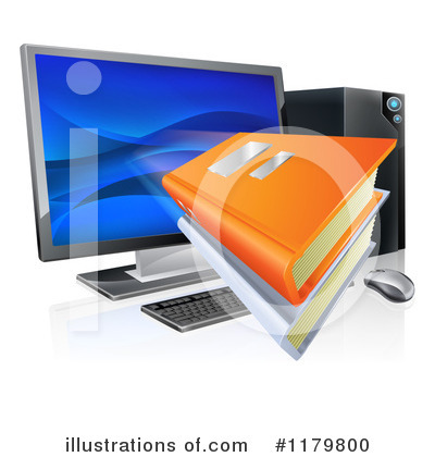 Desktop Computer Clipart #1179800 by AtStockIllustration