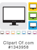 Computer Clipart #1343958 by ColorMagic