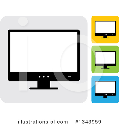 Computers Clipart #1343959 by ColorMagic
