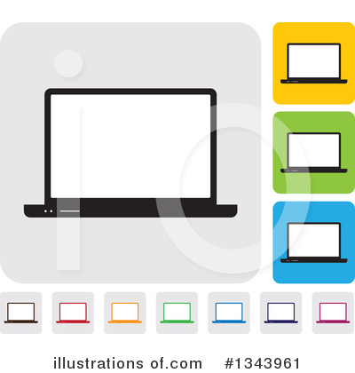 Computers Clipart #1343961 by ColorMagic