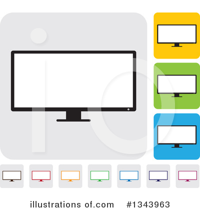 Computers Clipart #1343963 by ColorMagic