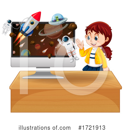 Astronaut Clipart #1721913 by Graphics RF