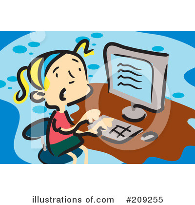Computer Clipart #209255 by mayawizard101