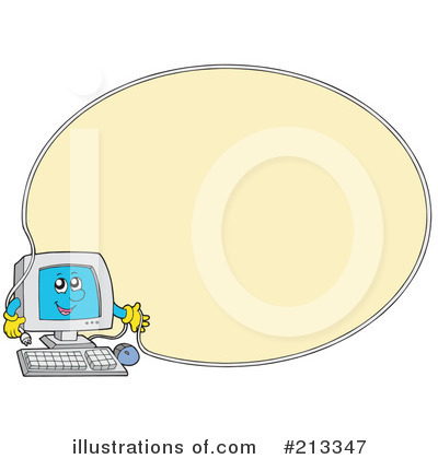 Computer Clipart #213347 by visekart