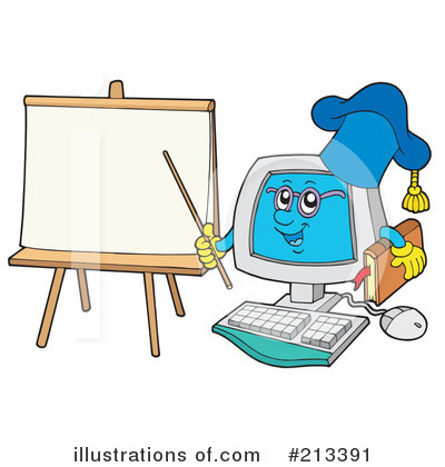 Computer Clipart #213391 by visekart