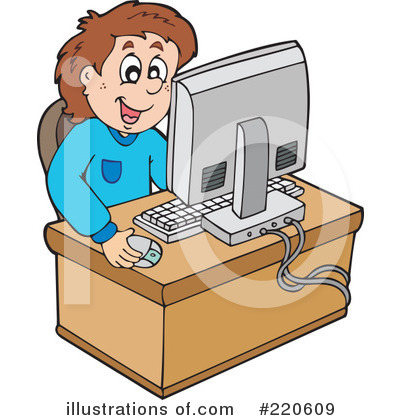 Computer Clipart #220609 by visekart