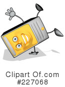 Royalty-Free (RF) Computer Clipart Illustration #227068