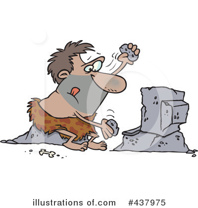 Caveman Clipart #437975 by toonaday