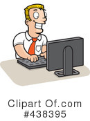 Royalty-Free (RF) Computer Clipart Illustration #438395