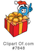 Royalty-Free (RF) computer Clipart Illustration #7848