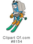 Computer Clipart #8154 by Toons4Biz