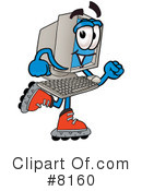 Computer Clipart #8160 by Toons4Biz