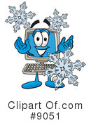 Computer Clipart #9051 by Toons4Biz