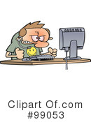 Computer Clipart #99053 by gnurf