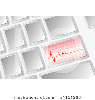 Heartbeat Clipart #1151266 by Andrei Marincas