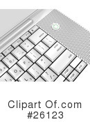 Computer Keyboard Clipart #26123