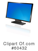 Computer Monitor Clipart #60432