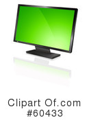 Computer Monitor Clipart #60433 by Oligo