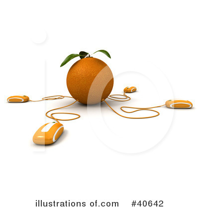 Oranges Clipart #40642 by Frank Boston