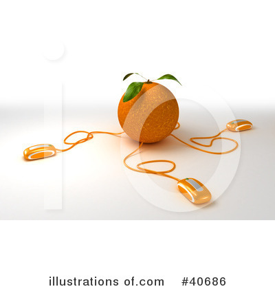 Oranges Clipart #40686 by Frank Boston