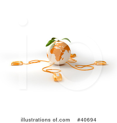 Oranges Clipart #40694 by Frank Boston