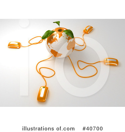 Oranges Clipart #40700 by Frank Boston