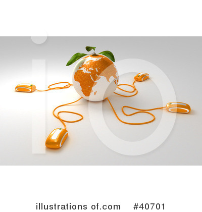 Oranges Clipart #40701 by Frank Boston