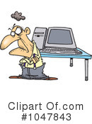 Computers Clipart #1047843 by toonaday