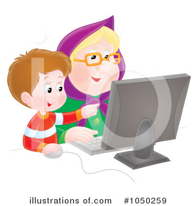 Granny Clipart #1050259 by Alex Bannykh