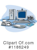 Computers Clipart #1186249 by Lal Perera