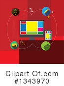 Computers Clipart #1343970 by ColorMagic