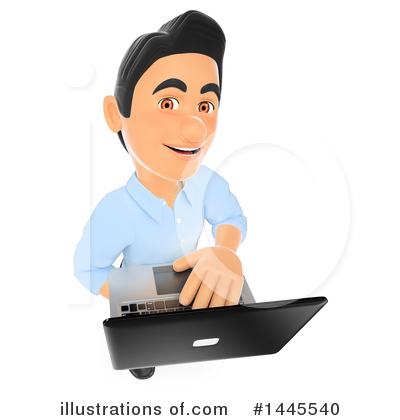 Laptop Clipart #1445540 by Texelart