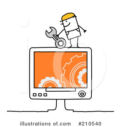 Technology Clipart #210540 by NL shop