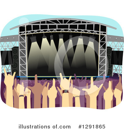 Concert Clipart #1291865 by BNP Design Studio