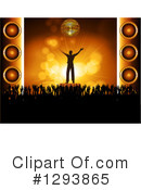 Royalty-Free (RF) Concert Clipart Illustration #1293865
