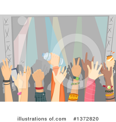 Concert Clipart #1372820 by BNP Design Studio