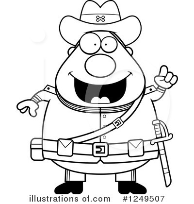 Royalty-Free (RF) Confederate Soldier Clipart Illustration by Cory Thoman - Stock Sample #1249507