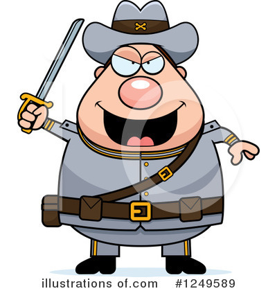 Confederate Soldier Clipart #1249589 by Cory Thoman