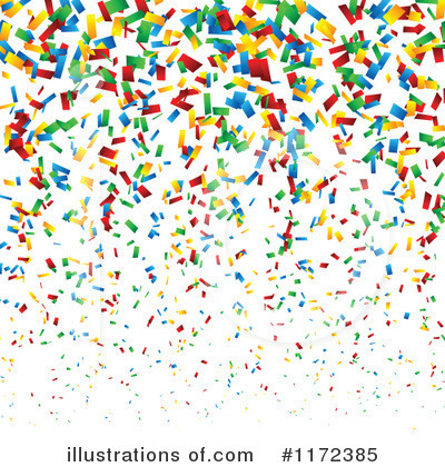 Confetti Clipart #1172385 by vectorace