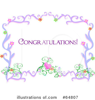 royalty free congratulations clipart illustration 64807 - Winner`s Of March Competition 2012