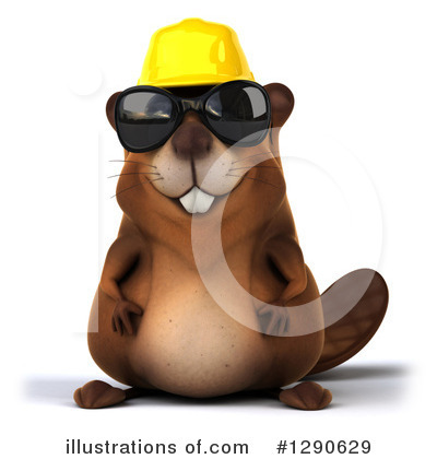 Beaver Clipart #1290629 by Julos
