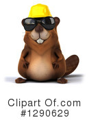 Construction Beaver Clipart #1290629 by Julos