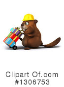 Construction Beaver Clipart #1306753 by Julos