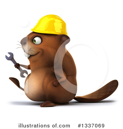 Beaver Clipart #1337069 by Julos