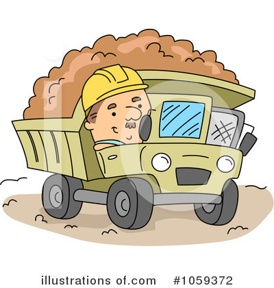 Heavy Machinery Clipart #1059372 by BNP Design Studio