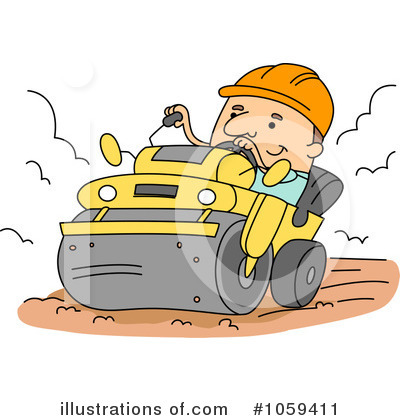 Heavy Machinery Clipart #1059411 by BNP Design Studio