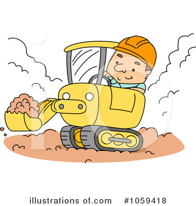 Heavy Machinery Clipart #1059418 by BNP Design Studio