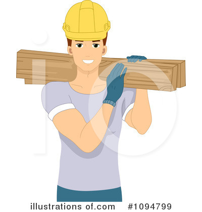 Construction Worker Clipart #1094799 by BNP Design Studio