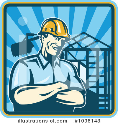 Foreman Clipart #1098143 by patrimonio