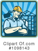 Royalty-Free (RF) Construction Clipart Illustration #1098143